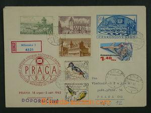 97728 - 1981 COB15, PRAGA 1962 60h, zaslaná jako R, bohatá přídavná