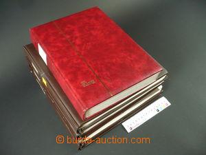97775 - 1918-90 ČSR I.+II.  sbírka zn. na zasklených listech Linder