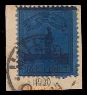 97849 - 1900 MAFEKING  Mi.15b (SG.18), známka lokální pošty provozov