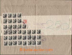 97860 - 1944 adresní část nádražního balíku novin Grenzbote, vyfr. n