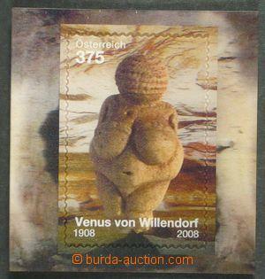 97960 - 2008 Block 44 (Mi.2758) Venuše z Willendorfu, efekt 3D, bezv