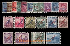 97994 - 1939 Alb.2-22, Přetisková emise, neobsahuje 19b, luxusní, le