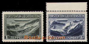 98011 - 1931 Mi.114-115, Zeppelin, luxusní, kat. 550€