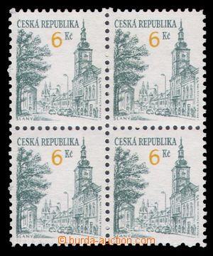 99699 - 1994 Pof.P52, Městská architektura - Slaný 6Kč, celkový padě