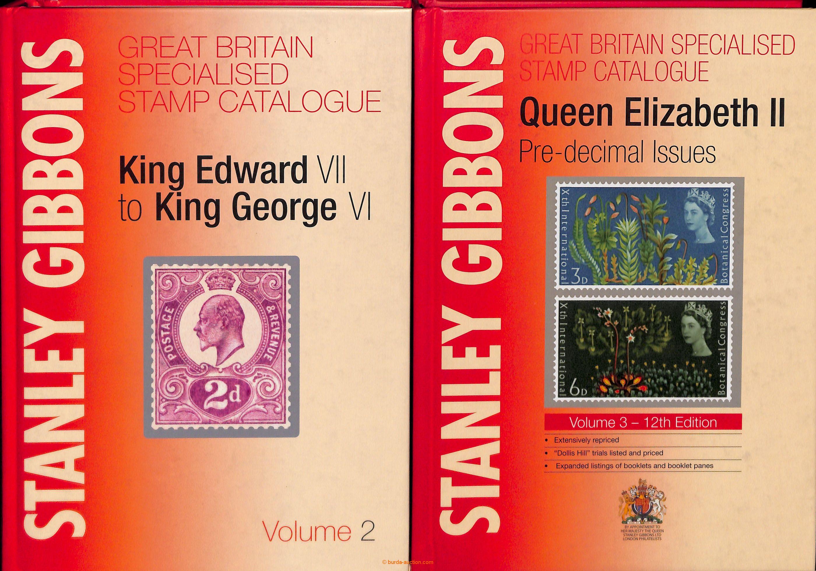 2011 STANLEY GIBBONS Volume 2-3, Specializované catalogues Edward VII  -  George VI